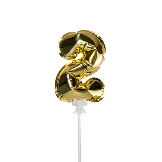 Picture of 金色數字氣球插件 - 2