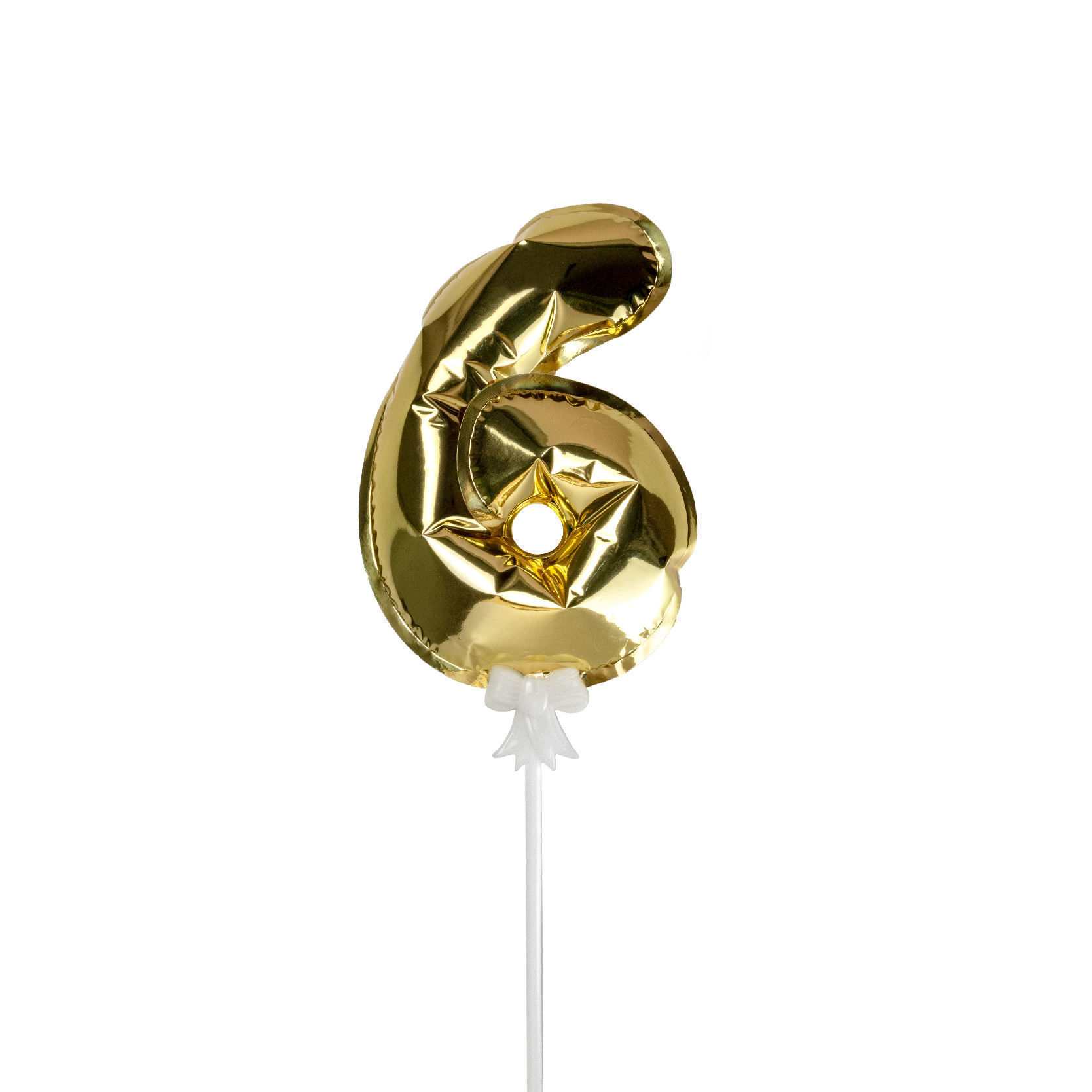 Picture of 金色數字氣球插件 - 6