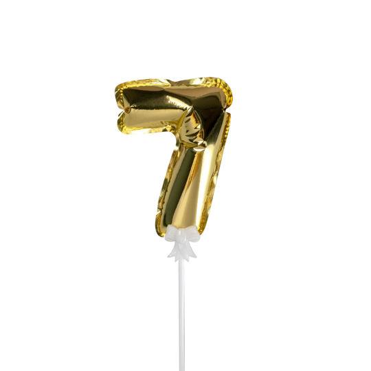 Picture of 金色數字氣球插件 - 7